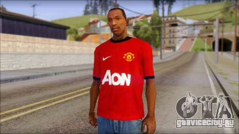Manchester United 2013 T-Shirt для GTA San Andreas