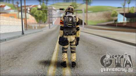 Opfor PVP from Soldier Front 2 для GTA San Andreas второй скриншот