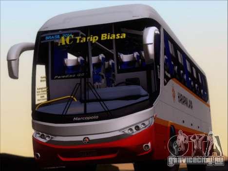 Marcopolo Paradiso 1200 Harapan Jaya для GTA San Andreas вид сзади