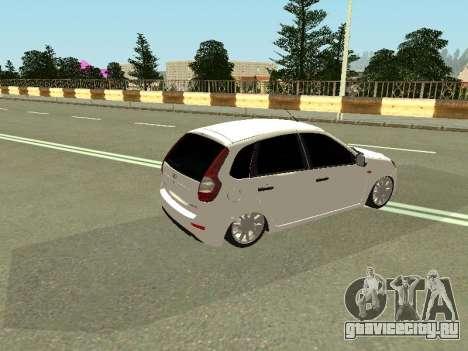 Lada Kalina 2 для GTA San Andreas вид справа