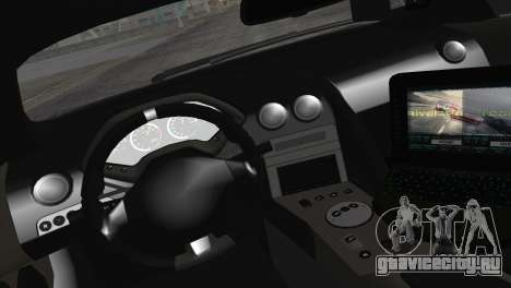Lamborghini Murcielago LP670 SV Police для GTA San Andreas вид сзади