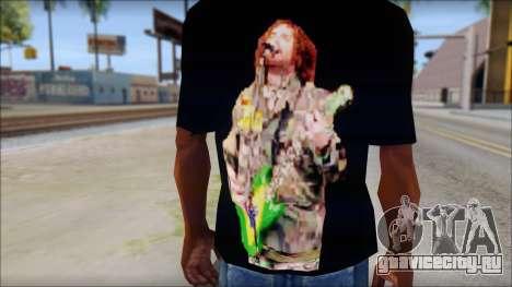 Max Cavalera T-Shirt v1 для GTA San Andreas третий скриншот