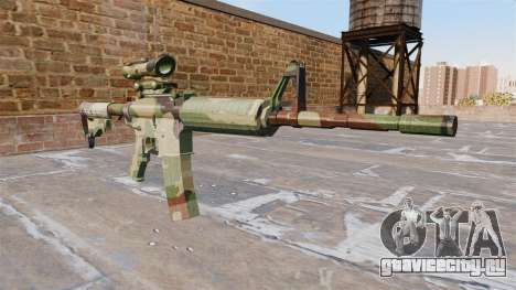 Автоматический карабин М4А1 NATO Camo для GTA 4