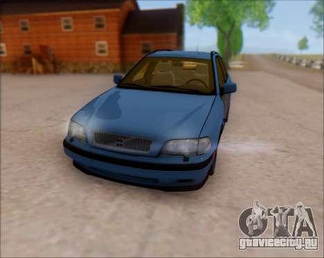 Volvo V40 для GTA San Andreas вид сзади