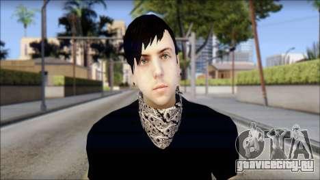 Billy from Good Charlotte для GTA San Andreas третий скриншот