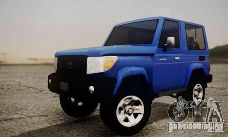 Toyota FJ70 2011 для GTA San Andreas