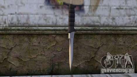 Knife from Resident Evil 6 v2 для GTA San Andreas второй скриншот
