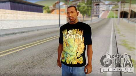 Trivium T-Shirt Mod для GTA San Andreas