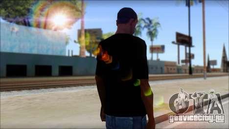 WWE Nexus T-Shirt для GTA San Andreas второй скриншот