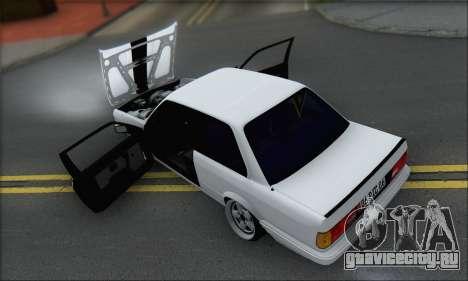 BMW M3 E30 для GTA San Andreas вид снизу
