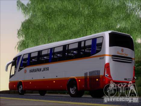 Marcopolo Paradiso 1200 Harapan Jaya для GTA San Andreas