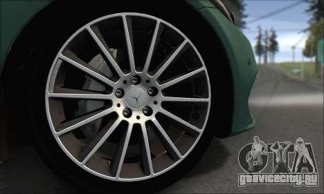 Mercedes-Benz C250 V1.0 2014 для GTA San Andreas вид сбоку