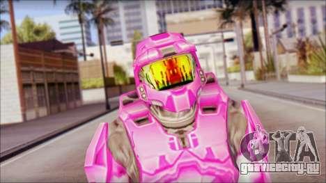 Masterchief Pink from Halo для GTA San Andreas