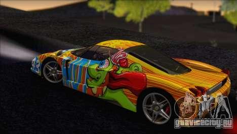 Ferrari Enzo 2002 для GTA San Andreas колёса