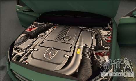Mercedes-Benz C250 V1.0 2014 для GTA San Andreas салон