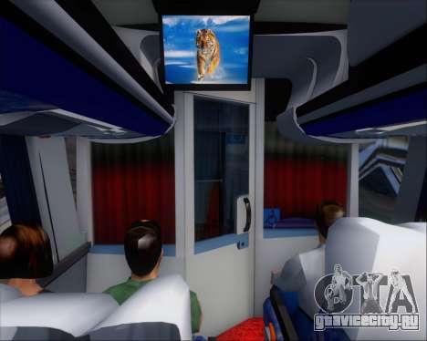 Busscar Vissta LO Scania K310 - Tur Bus для GTA San Andreas двигатель