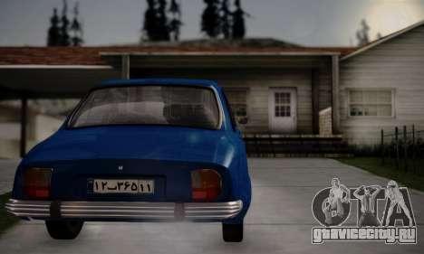 Peugeot 504 для GTA San Andreas вид слева