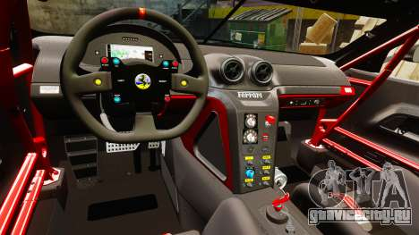 Ferrari F599 XX Evoluzione Simple CarbonFiber для GTA 4 вид изнутри