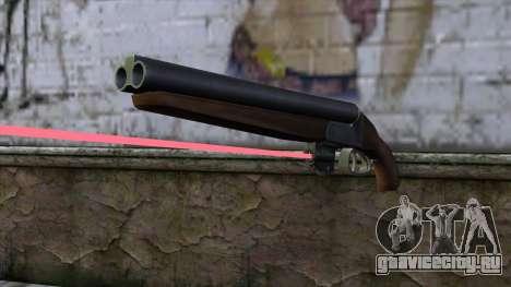 Обрез с лазерным прицелом для GTA San Andreas