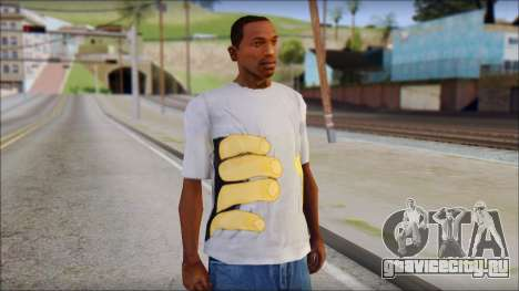 T-Shirt Hands для GTA San Andreas