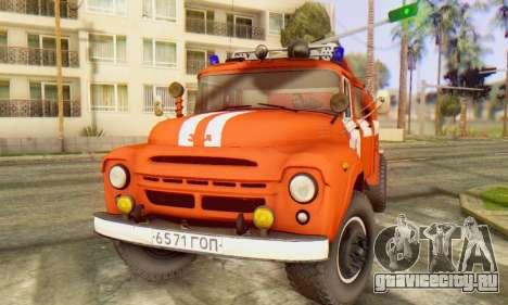 ЗиЛ 130 АЦ-40 для GTA San Andreas вид справа