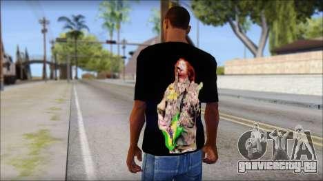 Max Cavalera T-Shirt v1 для GTA San Andreas второй скриншот