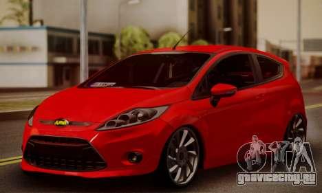 Ford Fiesta Turkey Drift Edition для GTA San Andreas
