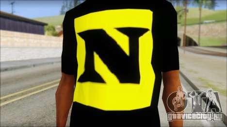 WWE Nexus T-Shirt для GTA San Andreas третий скриншот