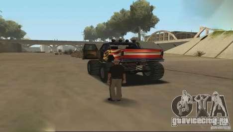 Дистанционное управление автомобилем для GTA San Andreas