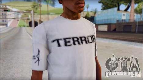 Terror T-Shirt Hardcore для GTA San Andreas третий скриншот