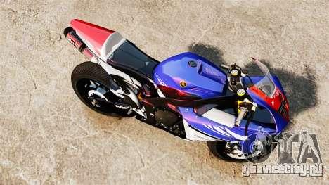 Yamaha YZF-R1 PJ1 для GTA 4 вид справа