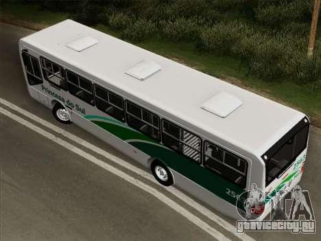 Mascarello Gran Via Mercedes-Benz OF1418 для GTA San Andreas вид сзади