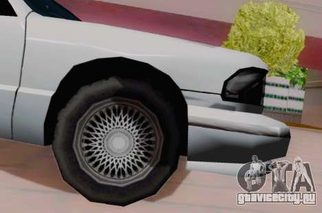 Premier Coupe для GTA San Andreas вид справа