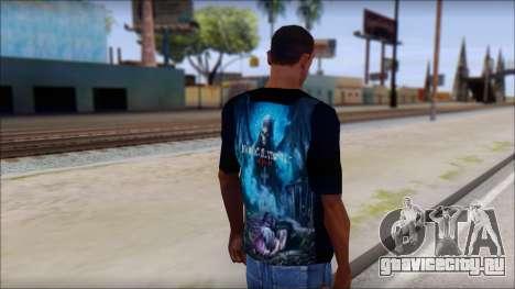 Avenged Sevenfold Nightmare Fan T-Shirt для GTA San Andreas второй скриншот