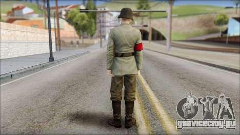 Wehrmacht soldier для GTA San Andreas второй скриншот