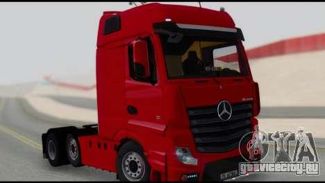 Mercedes-Benz Actros для GTA San Andreas
