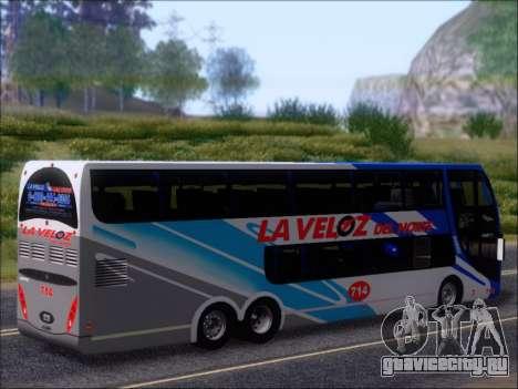 Metalsur Starbus DP 1 6x2 - La Veloz del Norte для GTA San Andreas колёса