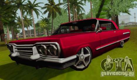 Savanna Coupe для GTA San Andreas