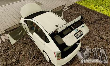 Toyota Prius Tunable для GTA San Andreas двигатель