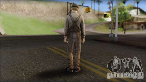 Male Civilian Worker для GTA San Andreas второй скриншот