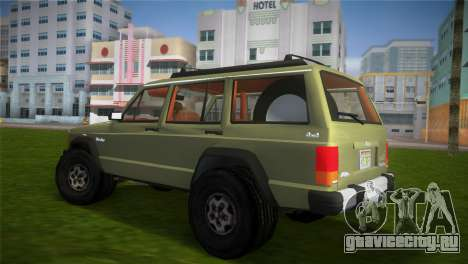 Jeep Cherokee v1.0 BETA для GTA Vice City вид слева