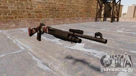 Ружьё Benelli M3 Super 90 bloodshot для GTA 4