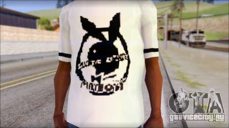 T-Shirt PlayBoy для GTA San Andreas третий скриншот