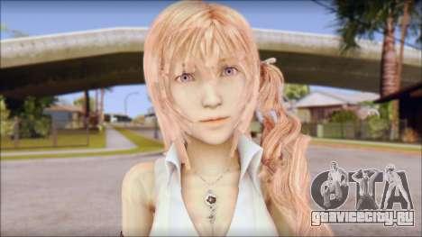 Final Fantasy XIII - Lightning Casual для GTA San Andreas третий скриншот