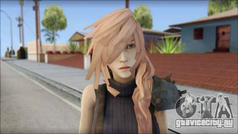 Final Fantasy XIII - Lightning Lowpoly для GTA San Andreas третий скриншот