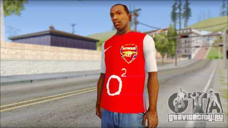 Arsenal Shirt для GTA San Andreas