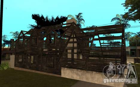 Дом из Call of Duty 4 для GTA San Andreas второй скриншот