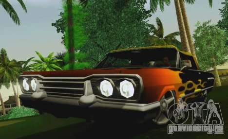 Savanna Coupe для GTA San Andreas вид справа