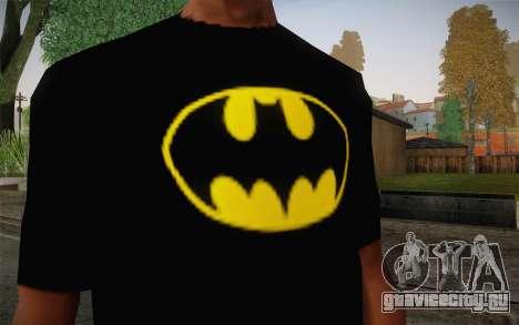 Batman Swag Shirt для GTA San Andreas третий скриншот