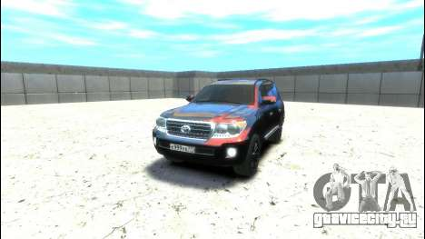 Toyota Land Cruiser 200 2013 для GTA 4